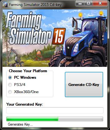 license key for farming simulator 2015