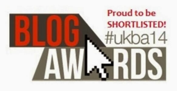 Shortlisted for Blog awards