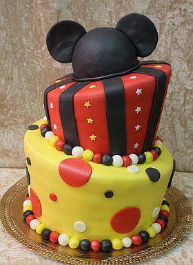 Tortas de Mickey Mouse para Fiestas Infantiles - muyameno.com