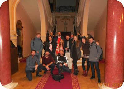 poza de grup cu Zig Zag prin Romania