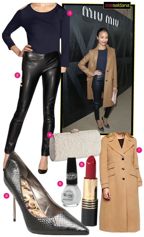 Celebrity Style: Zoe Saldana
