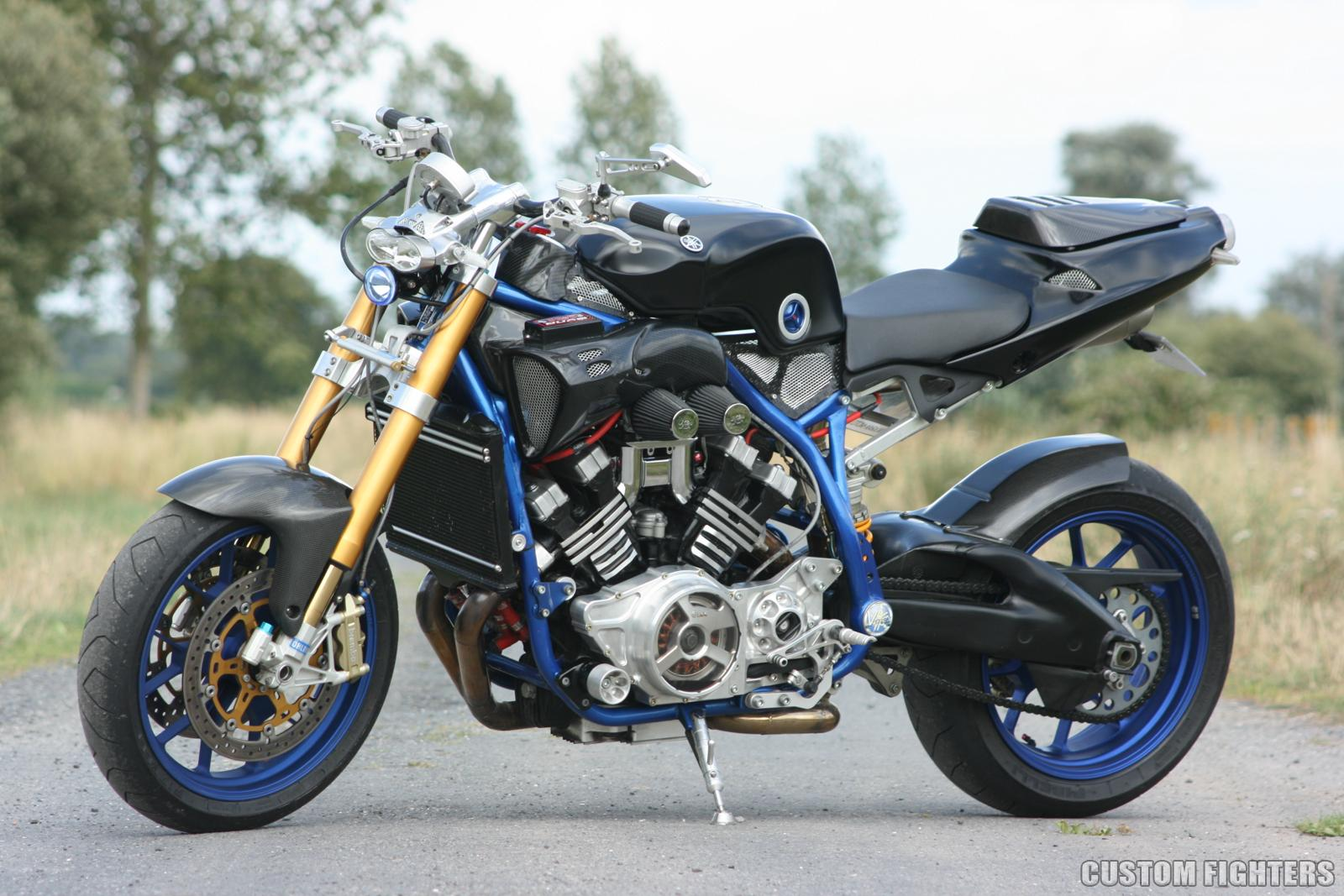 Yamaha Vmax Streetfighter Way2speed