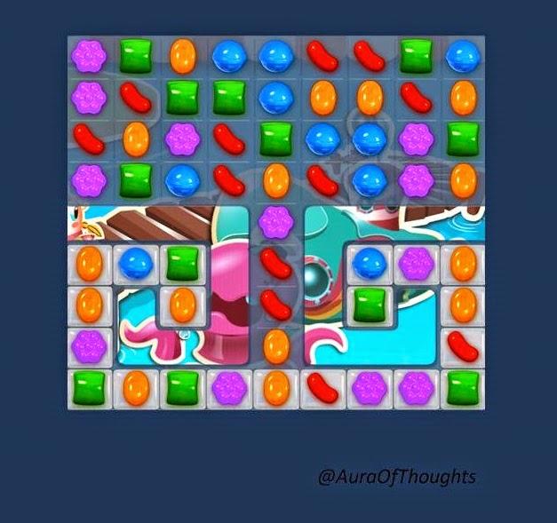 Mili n Sneha play Candy crush- Aura of thoughts