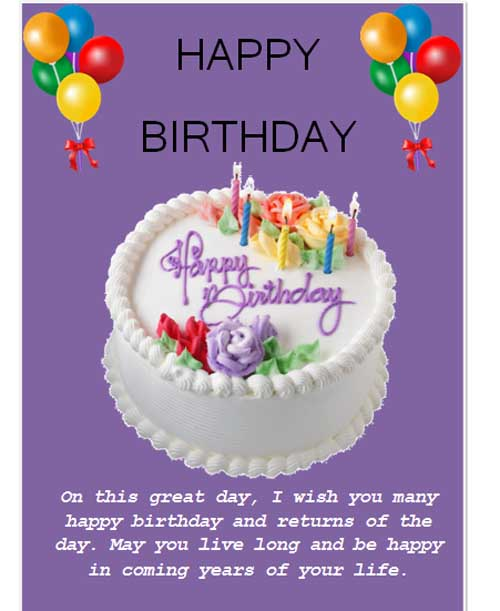birthday template microsoft word