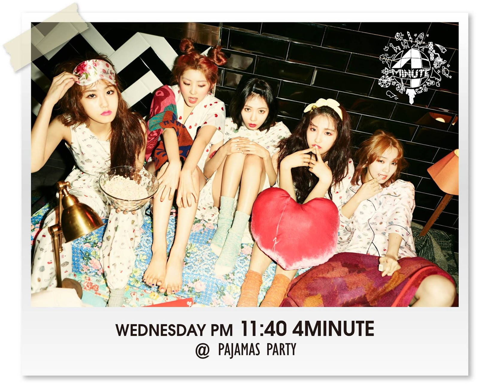4minute World What Are You Doing Today Ping Pong Pub
