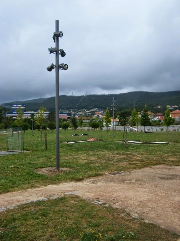 Iluminiçao do Parque da Cidade