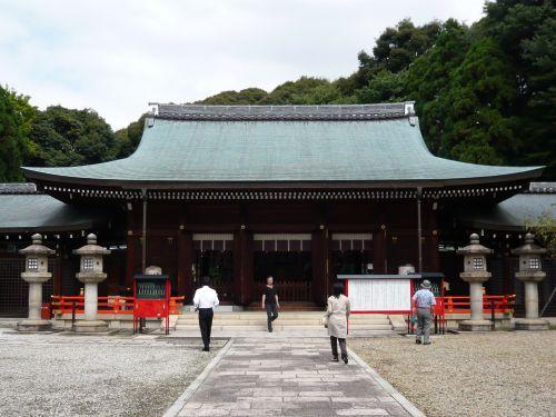 京都霊山護國神社拝殿