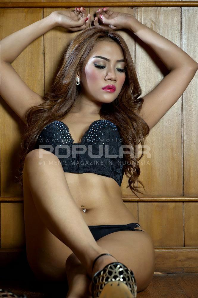 Hani Putri On Popular World October