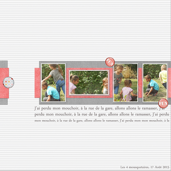 Scrap clean & simple, Scraplift de SOCO template de Sabrina