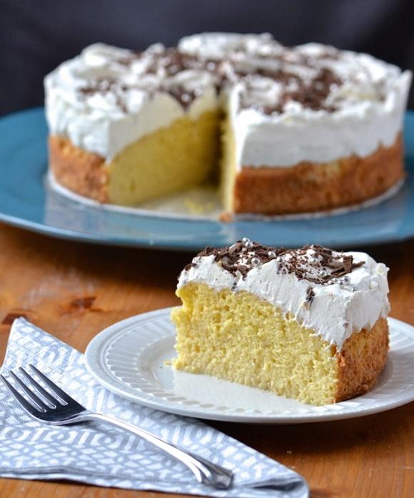 Gâteau Aux Trois Laits