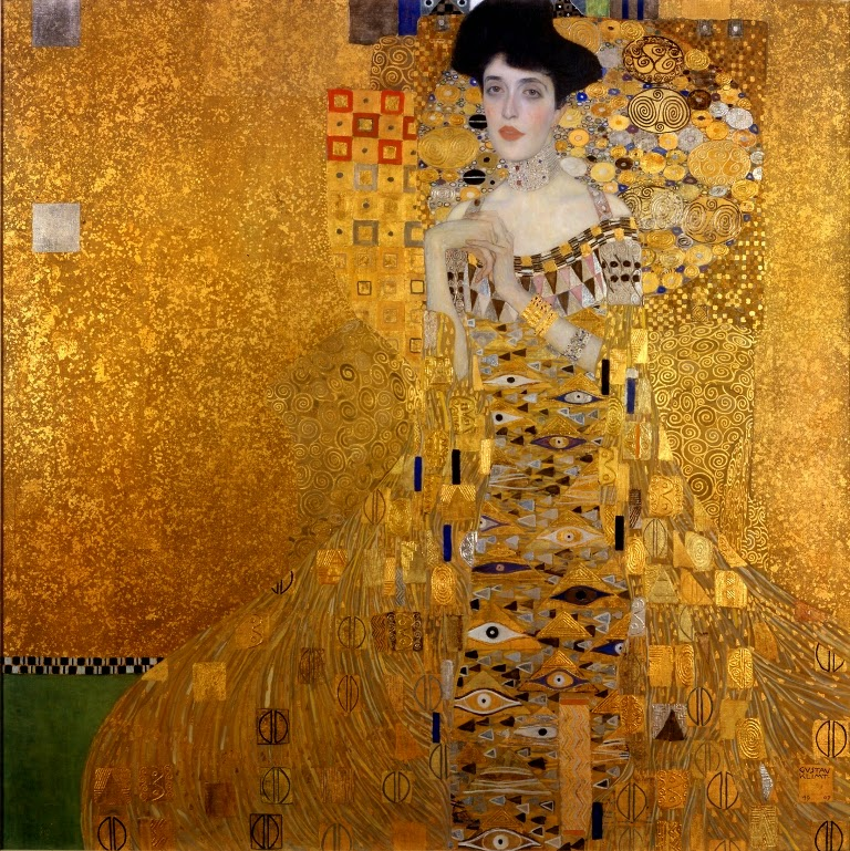Gustav Klimt Portrait of Adele Bloch-Bauer I. 1907