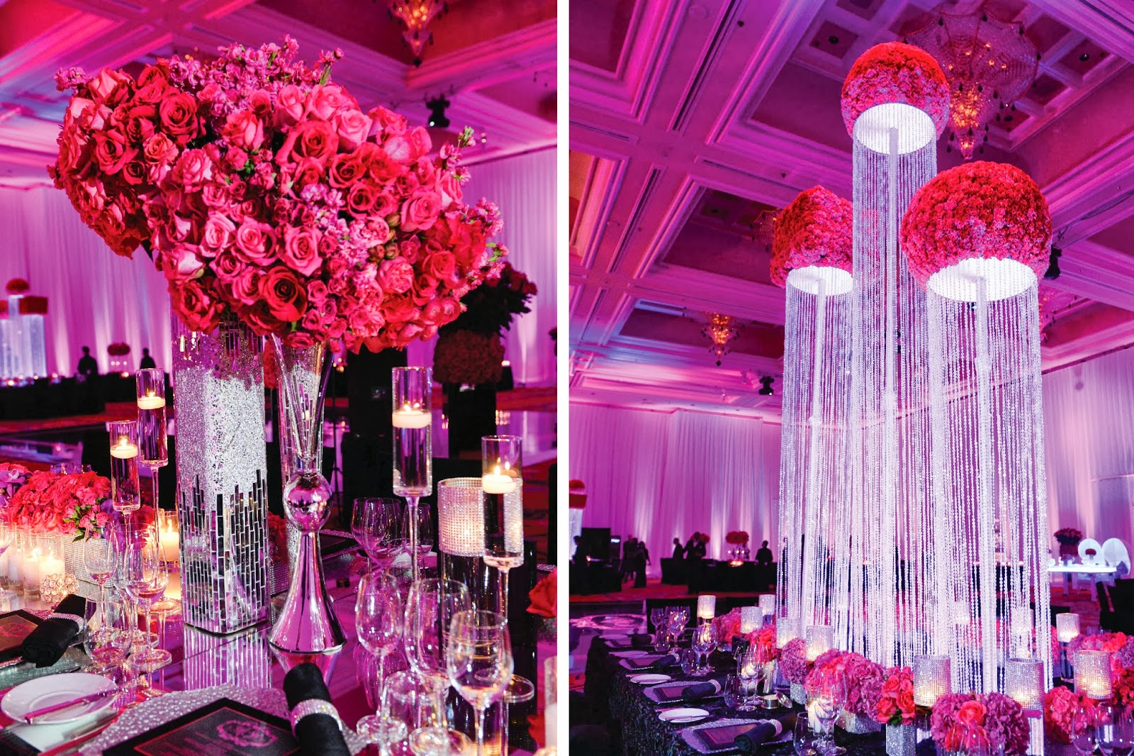 Best Bling Centerpieces Wedding Reception Contemporary - Styles ...
