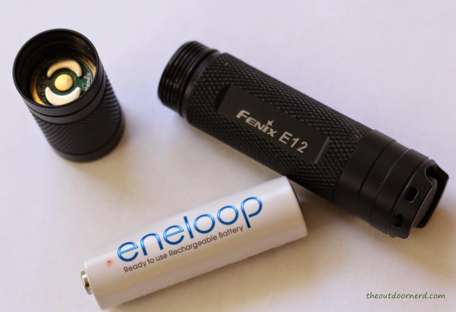 Fenix E12 1xAA EDC Flashlight Product Image 6