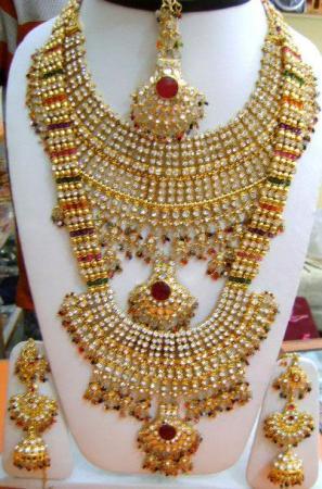 Prince bridal gold jewellery sets