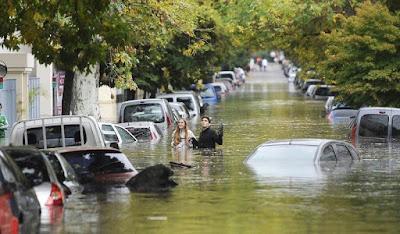 Inundaciones afectan Buenos Aires, Argentina
