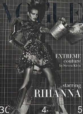 Rihanna's Sexy Vogue Cover