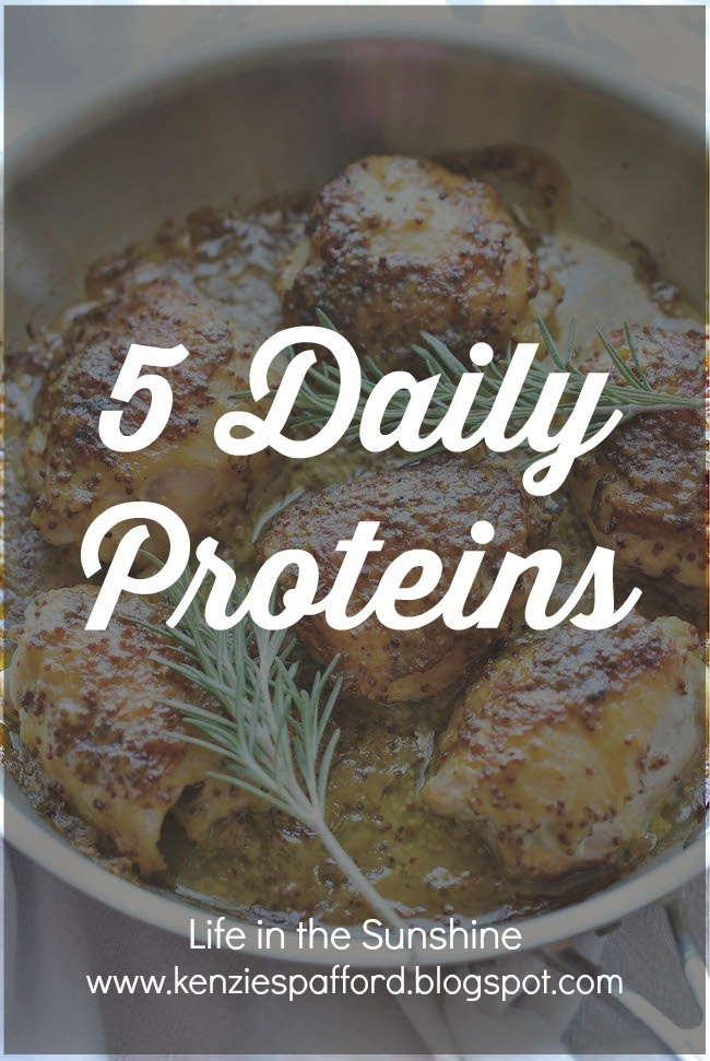 5 Daily Proteins
