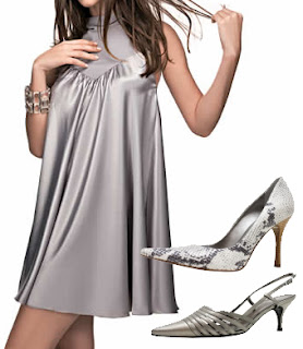 fotos de Vestido Prata
