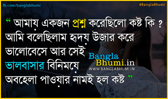 bangla sad love quote hd wallpaper - Valobasa Bujhte Diona