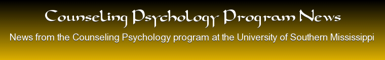 Counseling Psychology Program News