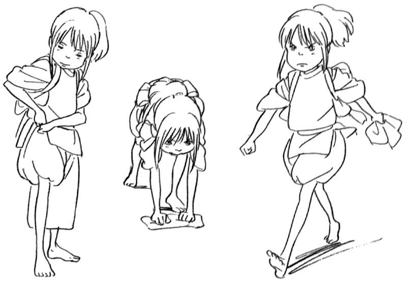 Free Coloring Pages Spirited Away Coloring Pages Spirited Away Coloring Pages