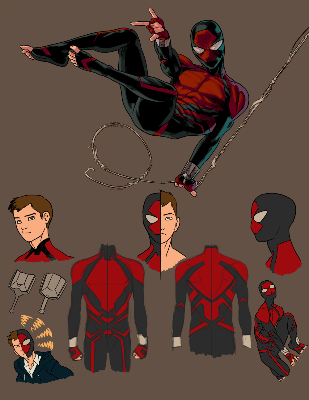 Gallery For gt Spiderman Redesign