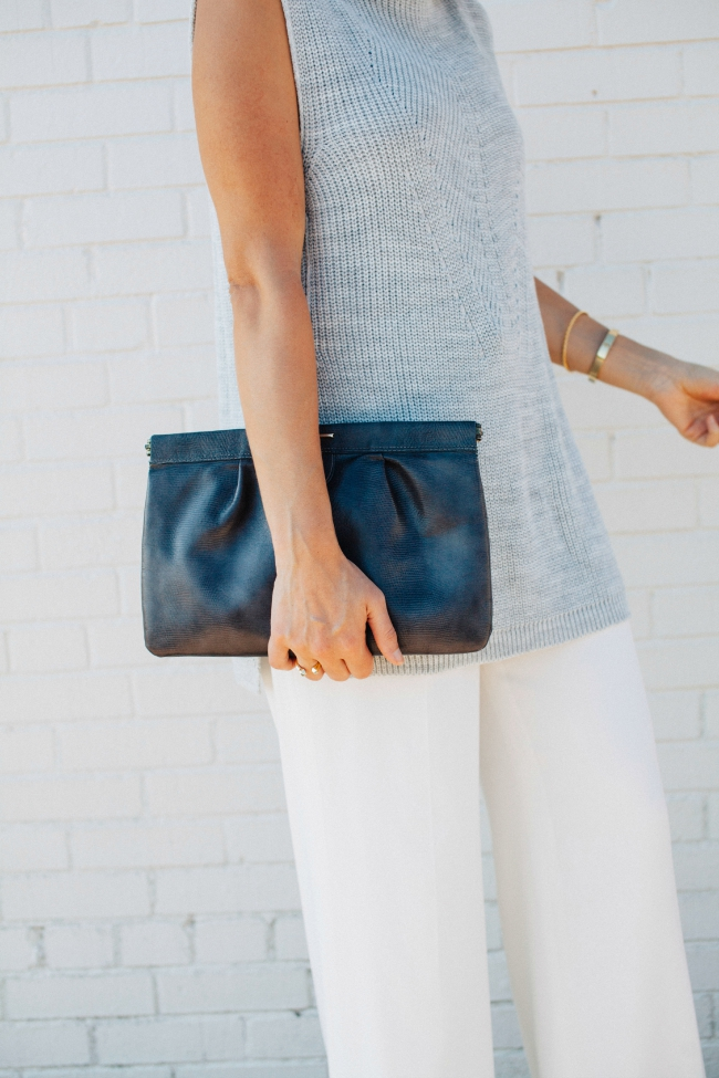 Vintage Clutch, Topshop Sweater, Fall Trends