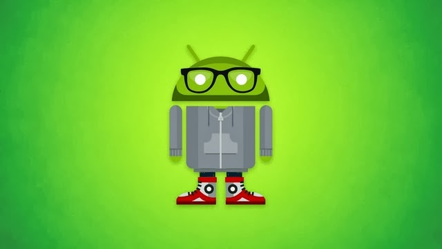 Android Hipster Wallpaper