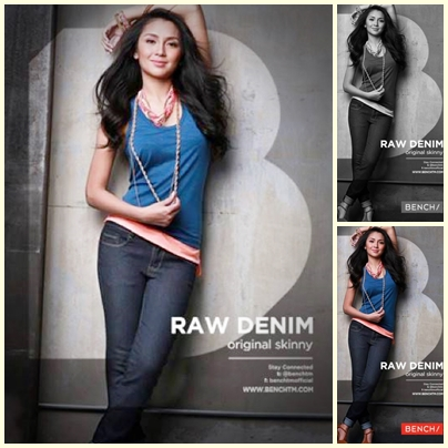 Kathryn Bernardo for Bench Back to School (Denim) campaign