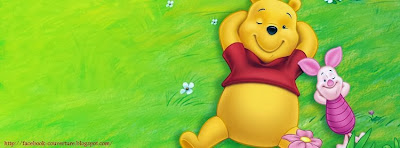 Une photo de couverture facebook winnie the pooh