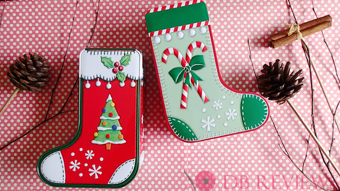 Win Two Beautiful Christmas Stocking Style Tins from Churchill's Confectionery