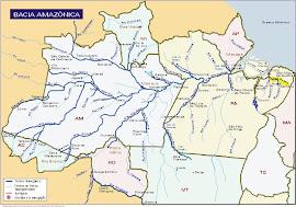 Mapa da Amazônia!