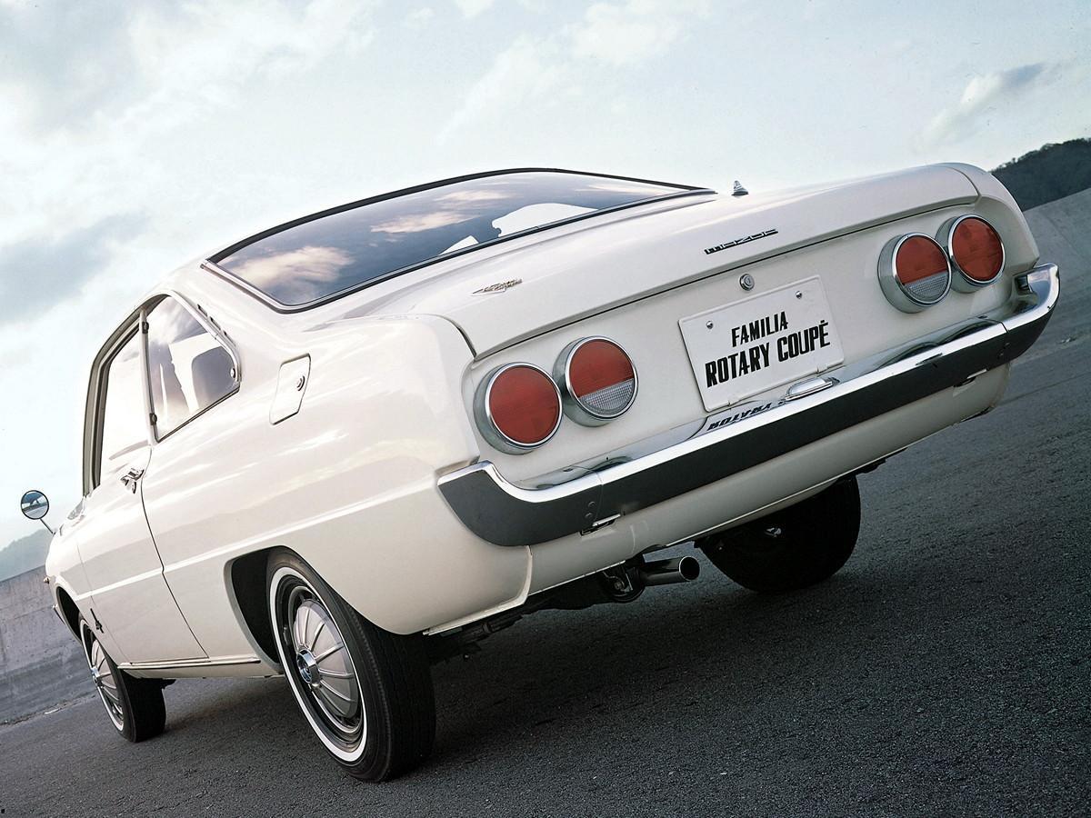 Mazda Familia Rotary Coupe, ciekawy samochód, piękny design, kultowe auto, JDM, japoński, fotki, galeria