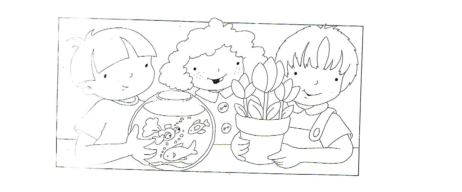 Dibujos Para Colorear De Animales Y Plantas ~ Ideas Creativas Sobre ...