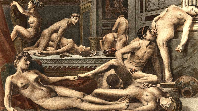 Phrase... Ancient orgy art idea