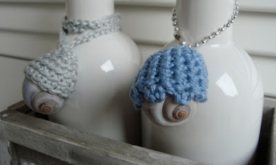 free crochet pattern shell wrap necklaces