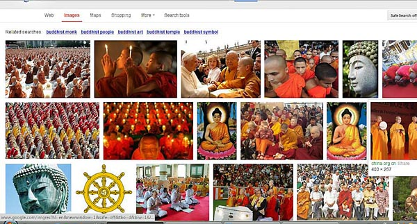 image search results for Buddhists