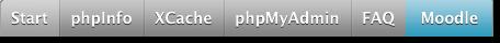 Lien MAMP phpMyAdmin