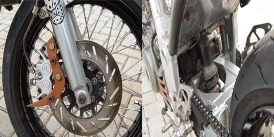 Modifikasi Kawasaki Ninja 250R Cafe Racer Rock n Row