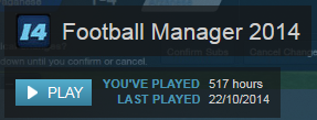 football manager hours played
