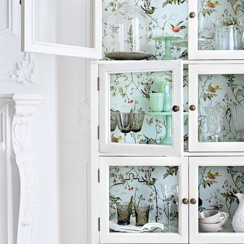 Cosas de palmichula forrar muebles con papel pintado - Papel pintado para armarios ...