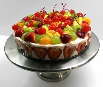 christmas fruit salad fruit cocktail cake with cake mix