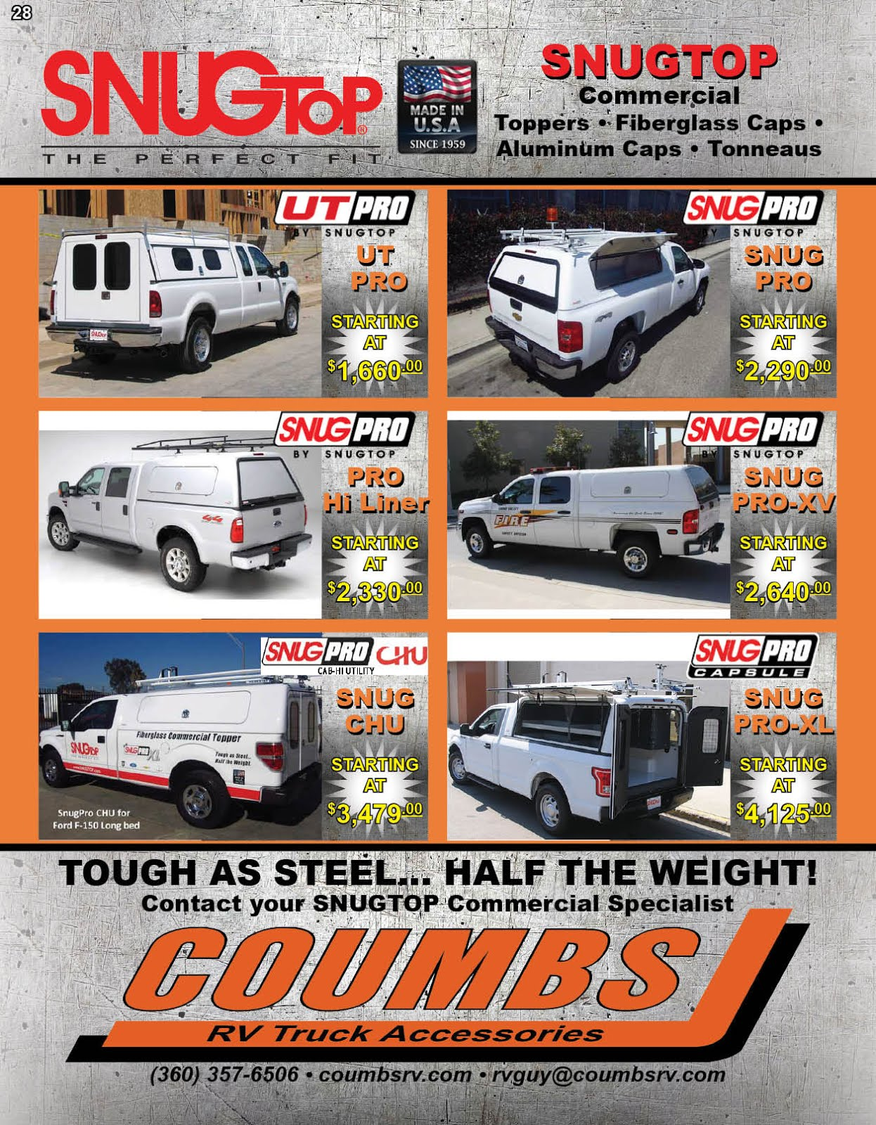 Coumbs RV &Truck Accessories