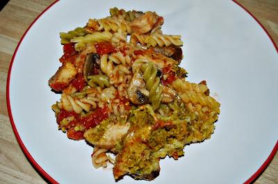 vegetarian recipe, pasta