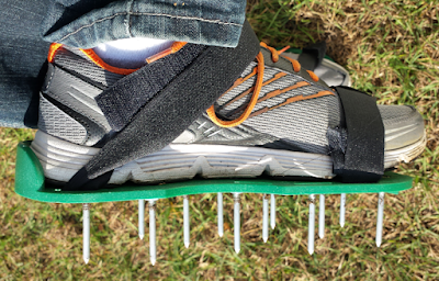 Lawn Aerator Spike Shoes by Dicani