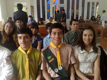 Adolescntes no Centro Nipônico Adventista