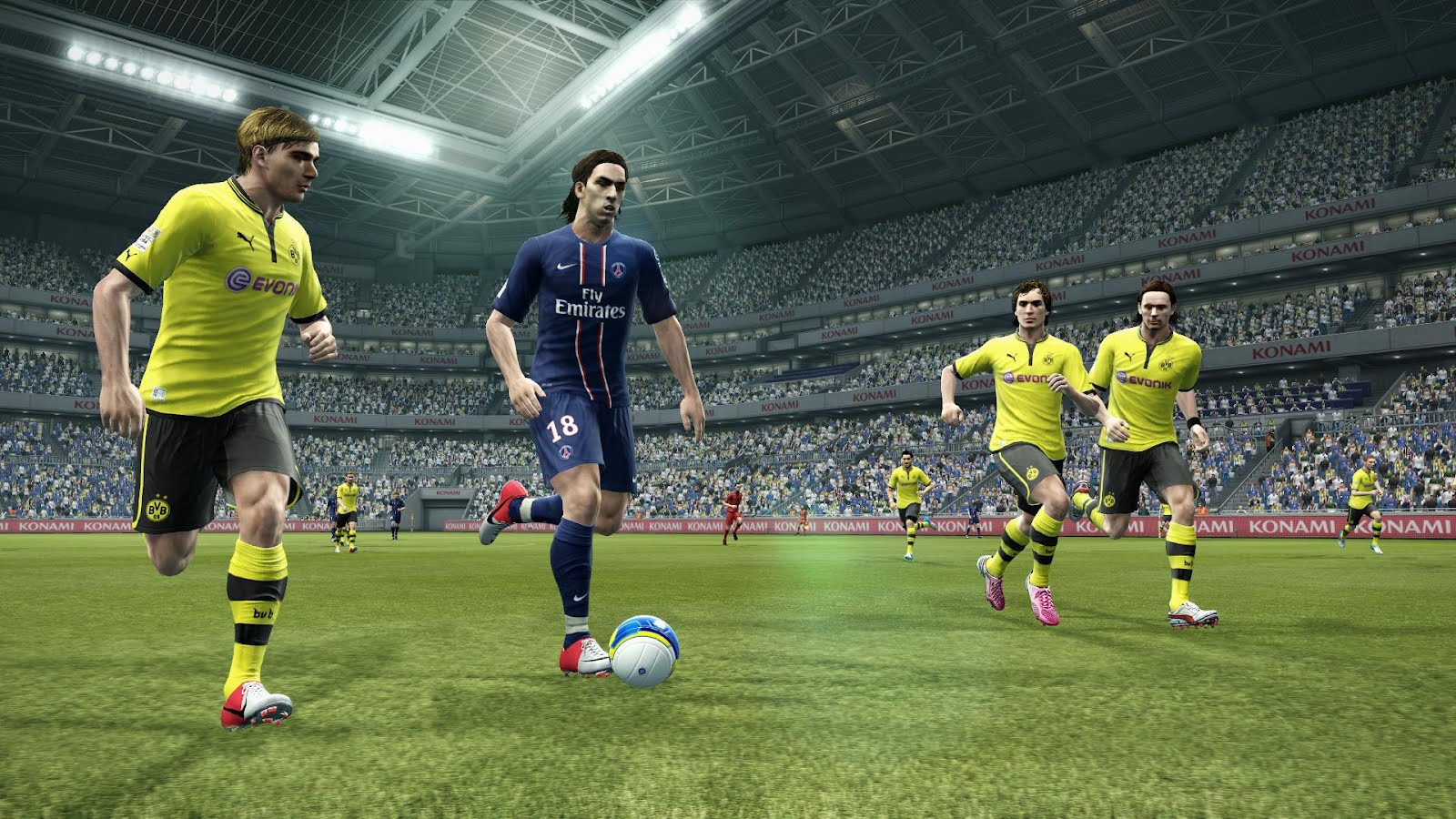 Adds 11 fully updated teams to PES 2013 Demo ( Arsenal, Chelsea