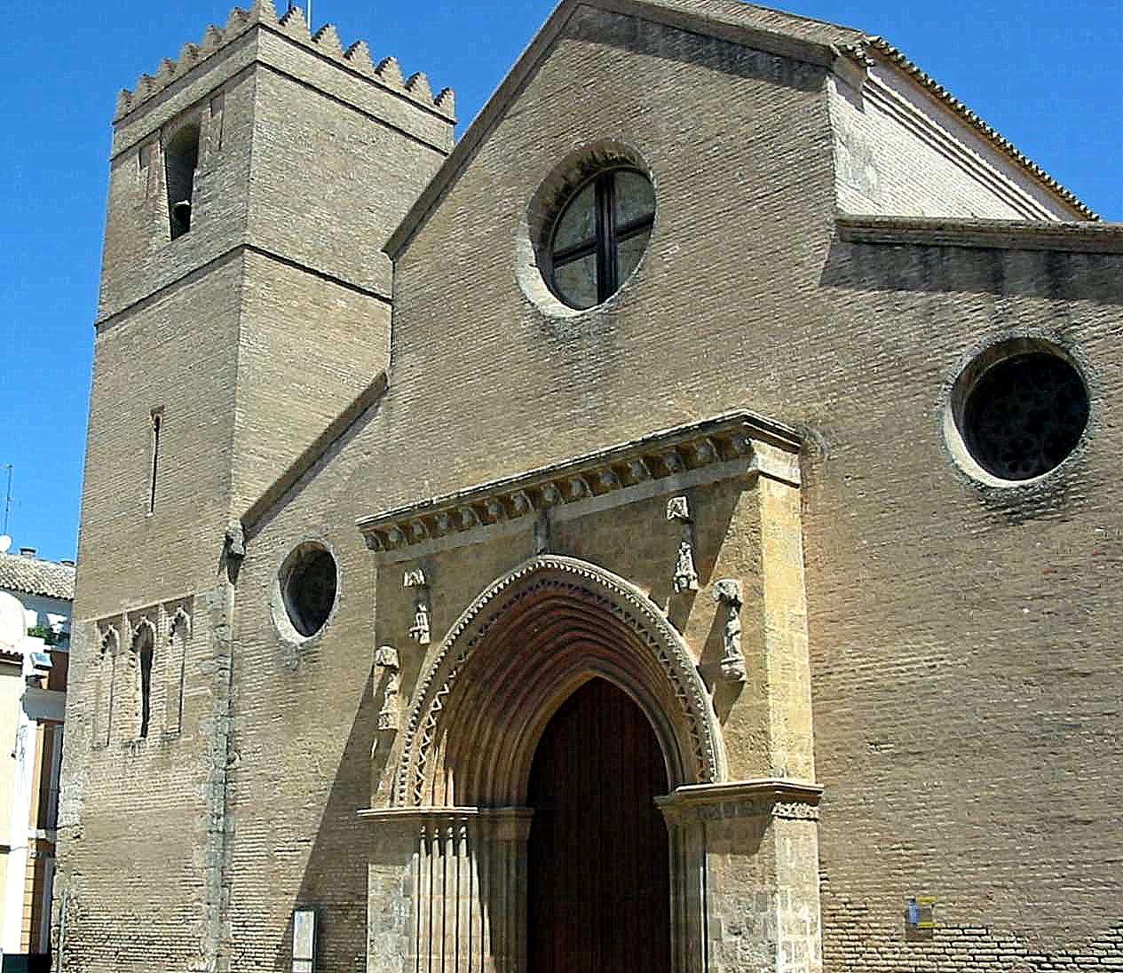 Leyendas de sevilla iglesia de santa marina y san juan for Puerta 8 san marcos