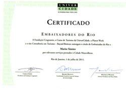 PRÊMIO EMBAIXADORES DO RIO