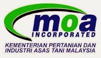 Jawatan Kerja Kosong Kementerian Pertanian dan Industri Asas Tani Malaysia (MOA) logo